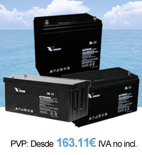 Baterias AGM Vision