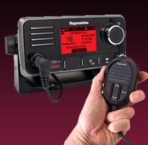Nuevo radio VHF Raymarine