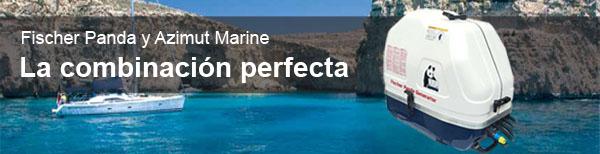 Fischer Panda y Azimut Marine - La Combinación perfecta