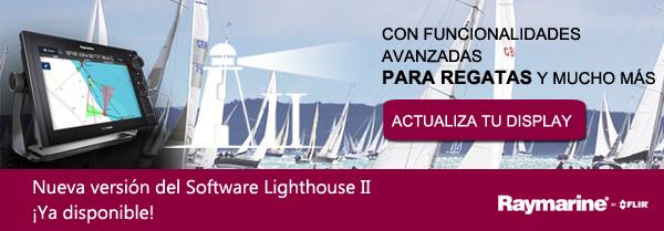 Actualización Lighthouse II  con funcionalidades avanzadas para regatas y mucho más