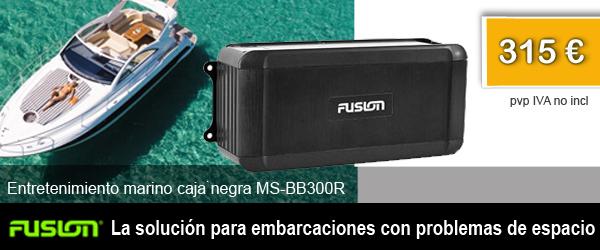 Caja negra MS-BB300R - La solución para embarcaciones con problemas de espaico. PVP 315€ IVA no incl.