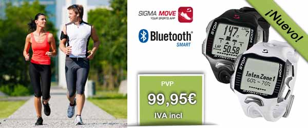 Reloj Sigma RC Move