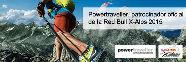 Powertraveller patrocinador oficial de la Red Bull X-Alps 2015